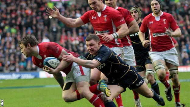 Wales were 28-18 winnners at Wales