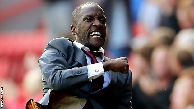Charlton manager Chris Powell