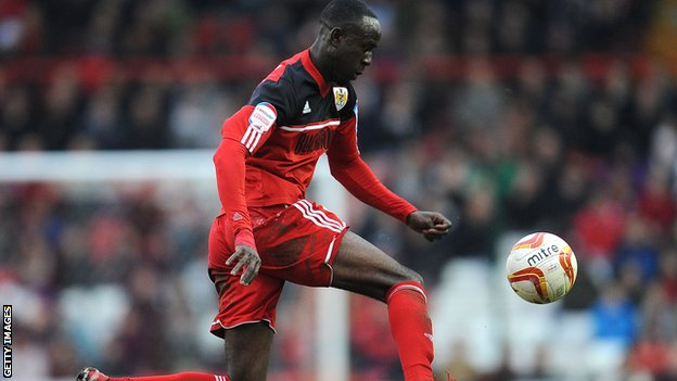 Bristol City's Albert Adomah