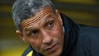 Chris Hughton was left ruing missed chances
