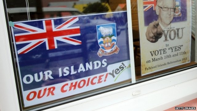 Posters in Falkland Islands