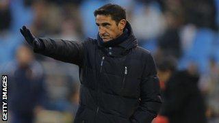 Valencia manager Ernesto Valverde