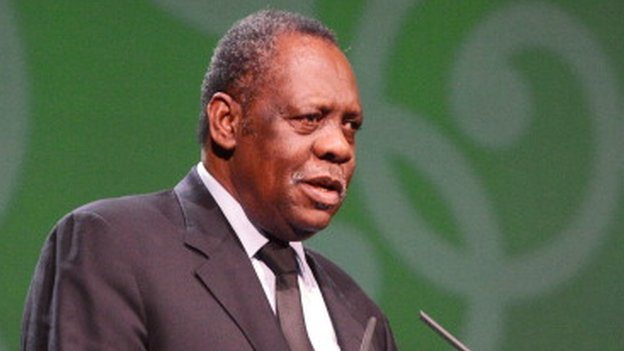 CAF President Issa Hayatou