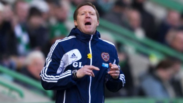 Heart of Midlothian interim manager Gary Locke