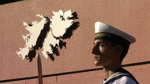 Argentine soldier