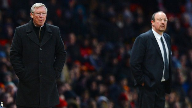 Sir Alex Ferguson and Rafael Benitez