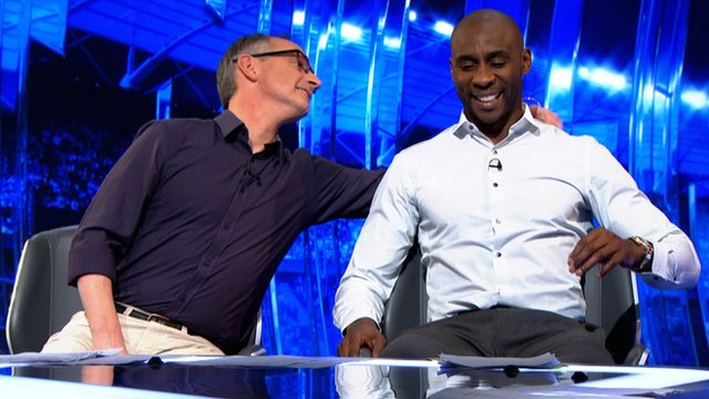 Pat Nevin and Jason Roberts