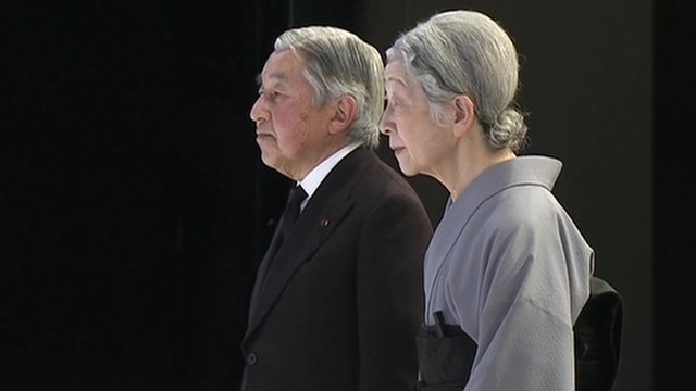 Emperor Akihito and Empress Michiko