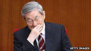 Former Chinese Premier Zhu Rongji