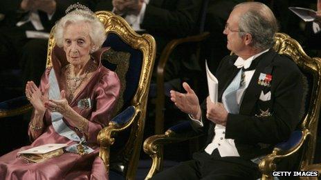 Princess Lilian and King Carl XVI Gustaf of Sweden