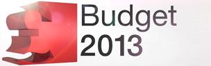 Budget 2013 graphic
