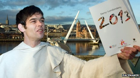 Derry is the UK city of culture for 2013