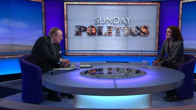 Andrew Neil and Theresa Villiers