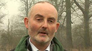 Steve Scott, Forestry Commission