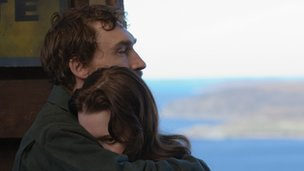 Joseph Mawle and Chloe Pirrie