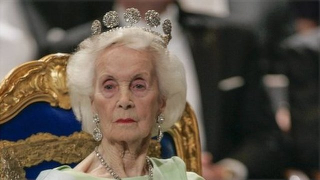 A photo taken on December 10, 2005 shows Princess Lilian of Sweden
