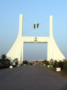 City gates to Abuja