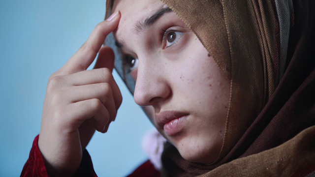 Marwa Shimari was 12 in 2003 when an American air-raid shook her village near Iraq's Sadr City.