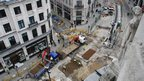Road works on Regent Street