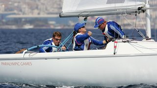 GB Sonar crew of John Robertson, Hannah Stodel and Stephen Thomas
