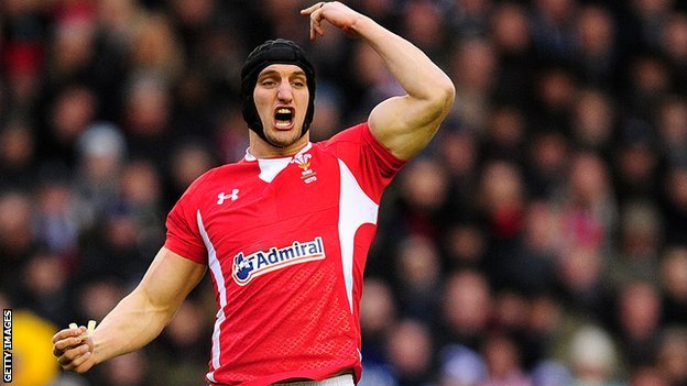 Wales open-side Sam Warburton