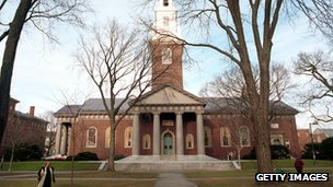 Harvard University file picture