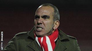 Paolo Di Canio left Swindon Town last month.
