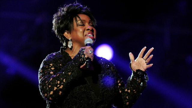 Gladys Knight performs in Cardiff in 2011