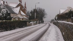 Snow in Guernsey