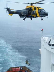 Vos Sailor rescue