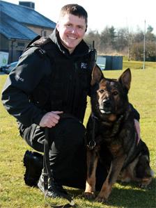 Police dog Axel