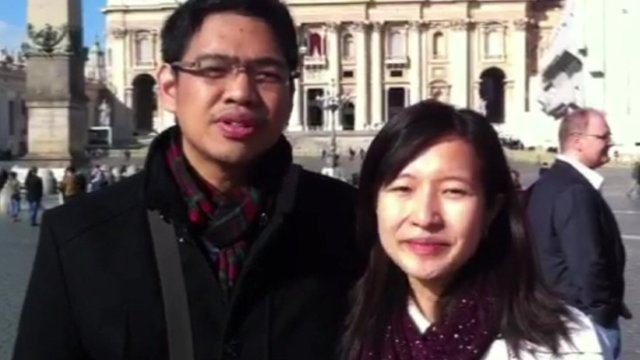 Couple from the Philippines