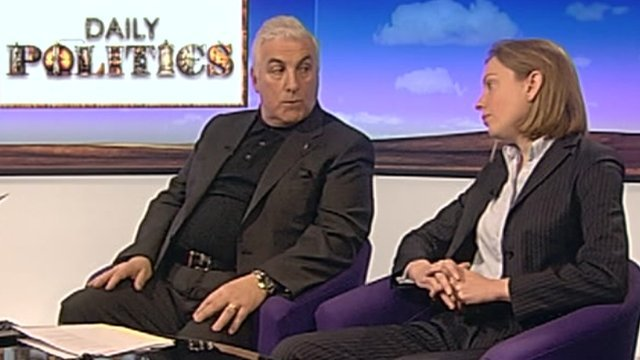 Mitch Winehouse and Tracey Crouch