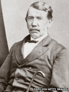 Portrait of Dr David Livingstone