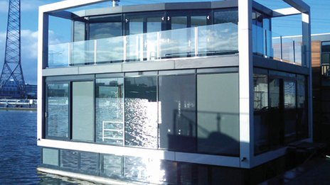 How a floating home could look