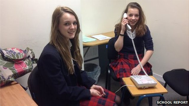 School Reporters speak to Radio Scotland to debate their right to vote