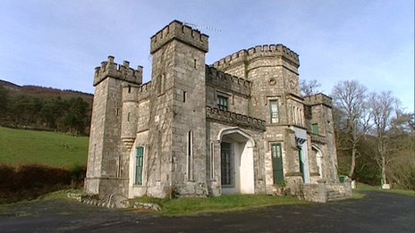 killeavy castle in south armagh gets a new owner bbc news