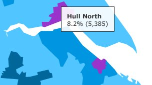 Claimant count in Hull North