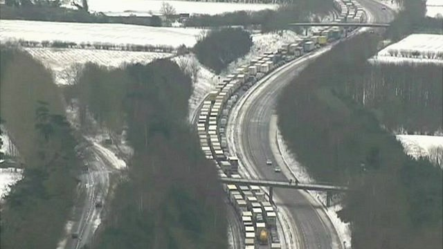 Traffic in UK