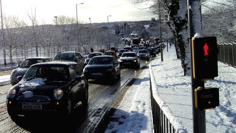 Traffic in Aberdeen