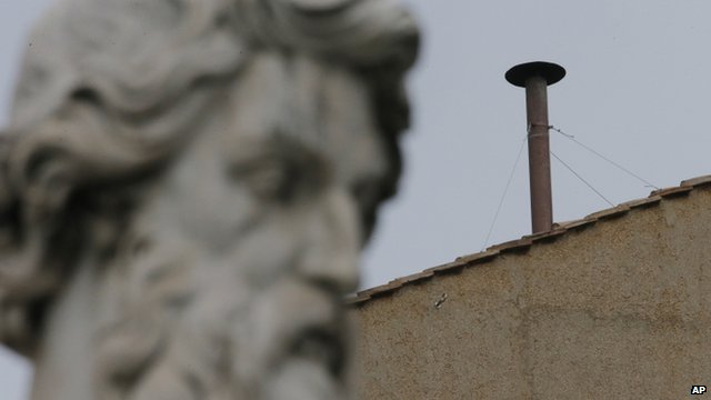 Chimney on Sistine Chapel