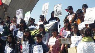 Pro justice rally Kathmandu