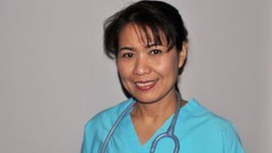 Rebecca, a Philippine nurse in the USA