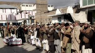 Residents of Parachinar (January 2013)