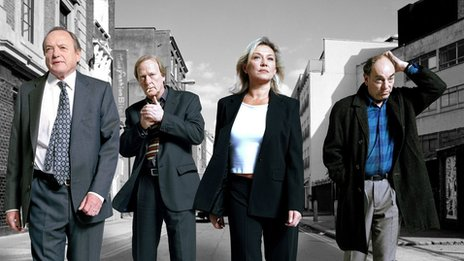 Characters from New Tricks