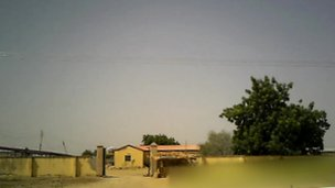 A detention centre in Maiduguri