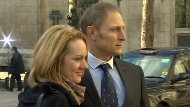 Danny Nightingale and his wife Sally hope to overturn the SAS sniper's convictions