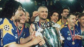 Juventus's 1996 Champions League win