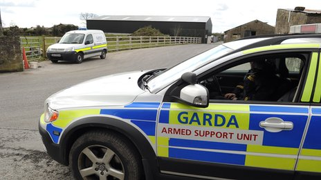 Search on the South Armagh/Louth border