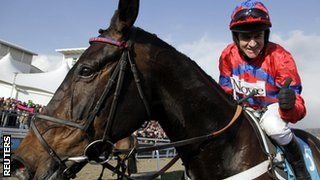 Barry Geraghty and Sprinter Sacre